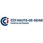 Logo du CCI Hauts-de-Seine / Paris Île-de-France